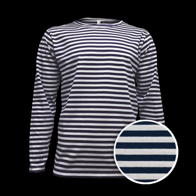Nové Pruhované tričko dlouhe Bílo-Modré AF - pánské 686e5c70aa