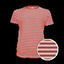 Pruhované tričko Bílo-Červené AF- pánské